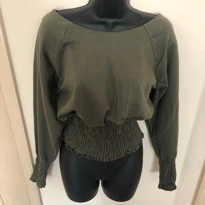 Elissa Smocked Sweatshirt
